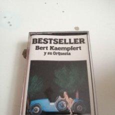 Casetes antiguos: G-50P CASETE MUSICA BESTSELLER BERT KAEMPFERT Y SU ORQUESTA. Lote 207329990