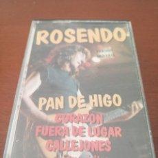 Casetes antiguos: K7 ROSENDO PAN DE HIGO CASSETTE CASETE CINTA. Lote 207401551
