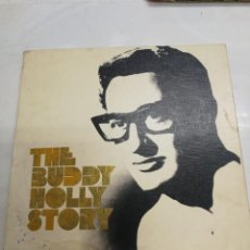 Casetes antiguos: BOX BUDDY HOLLY THE BUDDY HOLLY STORY - CAJA CON 5 CASETES Y UN LIBRETO EN INGLES CON SU ISTORIA. Lote 207666387