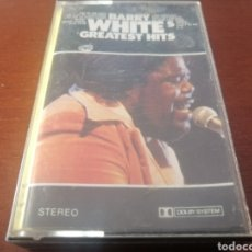 Casetes antiguos: K7 BARRY WHITE GREATEST HITS 1988 CASSETTE CASETE CINTA. Lote 208157803