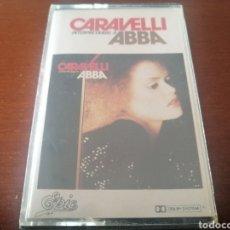 Casetes antiguos: K7 CARAVELLI INTERPRETANDO A ABBA 1980 CASSETTE CASETE CINTA. Lote 208158177