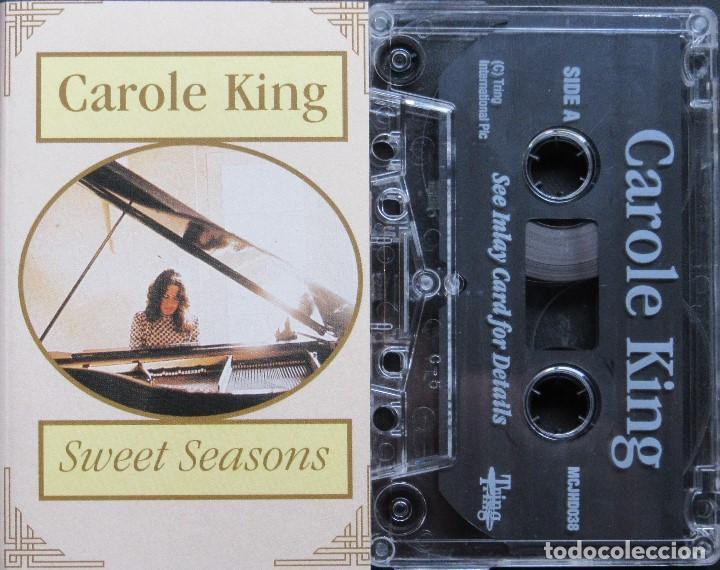 CAROLE KING - SWEET SEASONS (Música - Casetes)
