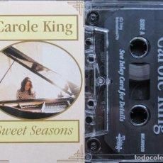 Casetes antiguos: CAROLE KING - SWEET SEASONS. Lote 208233653