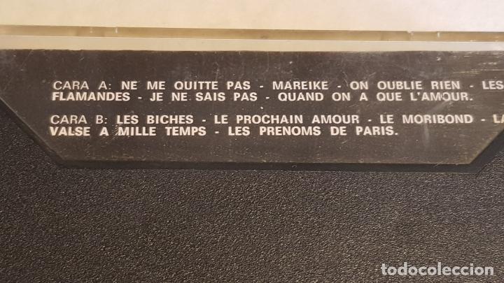 Casetes antiguos: JACQUES BREL / NE ME QUITTE PAS / MC - MOVIE PLAY-1972 / IMPECABLE. - Foto 2 - 208478850