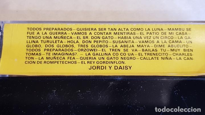 Casetes antiguos: JORDI Y DAISI / LAS CANCIONES PARA LOS PEQUEÑOS DE ENRIQUE Y ANA / MC-SOUND-1978 / IMPECABLE. - Foto 2 - 208669637