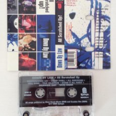 Casetes antiguos: DOWN BY LAW ALL SCRATCHED UP! CASETE EPITHAT HARDCORE MELODICO. Lote 208788750