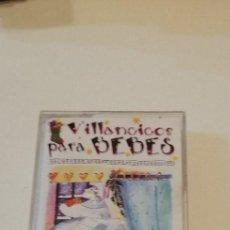 Casetes antiguos: G-6 CASETE MUSICA VILLANCICOS PARA BEBES TRADICIONALES VOL 3. Lote 208789295