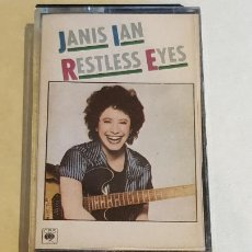 Casetes antiguos: JANIS LAN / RESTLESS EYES / MC - CBS-1981 / IMPECABLE / DIFÍCIL.. Lote 208869053