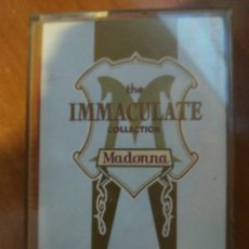 Casetes antiguos: MADONNA. THE IMMACULATE COLLECTION.. Lote 209634163