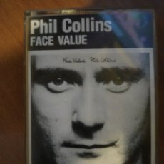 Casetes antiguos: PHILL COLLINS. FACE VALUE.. Lote 209634302