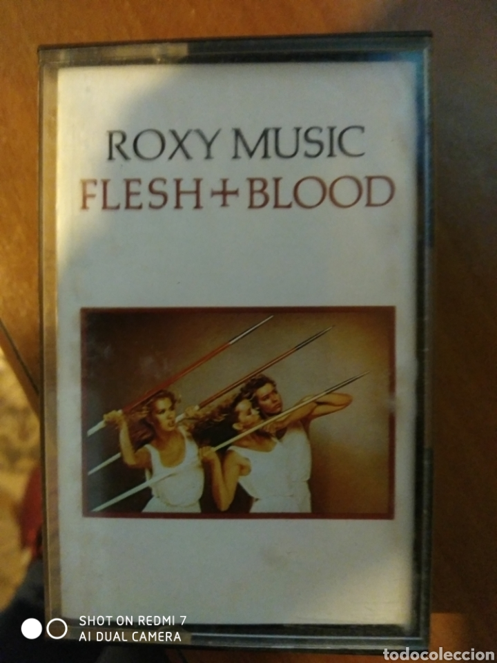 ROXI MUSIC. FLESH & BLOOD. (Música - Casetes)