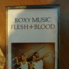 Casetes antiguos: ROXI MUSIC. FLESH & BLOOD.. Lote 209634458