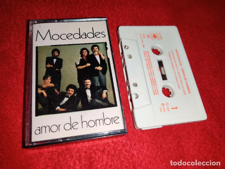 MOCEDADES AMOR DE HOMBRE K7 CASSETTE 1982 CBS (Música - Casetes)