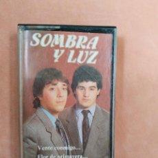 Casetes antiguos: SOMBRA Y LUZ. VENTE CONMIGO...COLISEUM. 1987. Lote 210380561