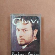Casetes antiguos: CHAVI. SENDEROS DE SUEÑOS. HORUS. 1996. Lote 210381590