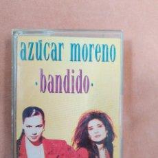 Casetes antiguos: AZUCAR MORENO. BANDIDO. EPIC. 1990. Lote 210382130
