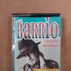 Casetes antiguos: EL BARRIO. VERSIONES ORIGINALES. TORMENTO... COLISEUM. 2001. Lote 210382827