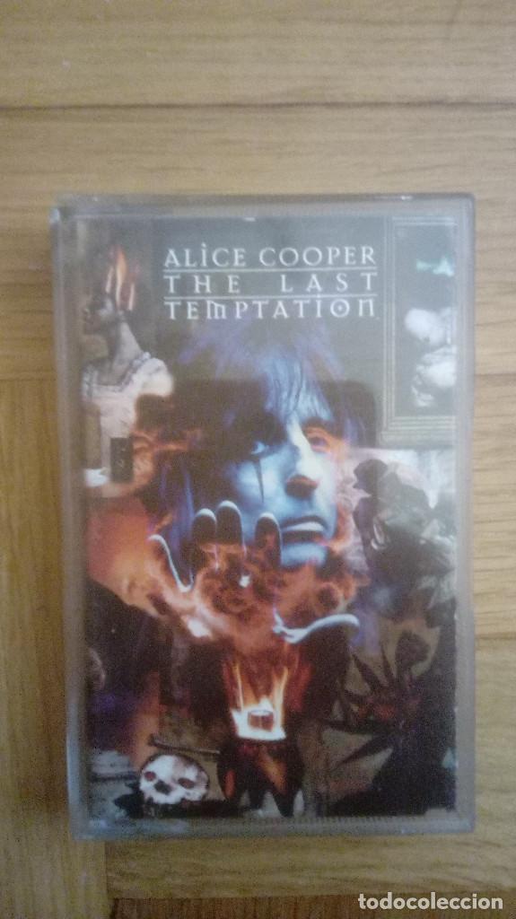 ALICE COOPER. THE LAST TEMPTATION. CASSETTE (Música - Casetes)