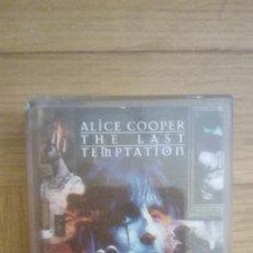 Casetes antiguos: ALICE COOPER. THE LAST TEMPTATION. CASSETTE. Lote 210386313