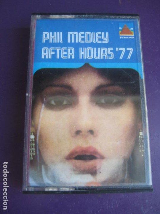 PHIL MEDLEY & M.V.B. ORCHESTRA – AFTER HOURS 77' CASETE MARFER 1977 - EASY LISTENING FUNK JAZZ 70'S (Música - Casetes)