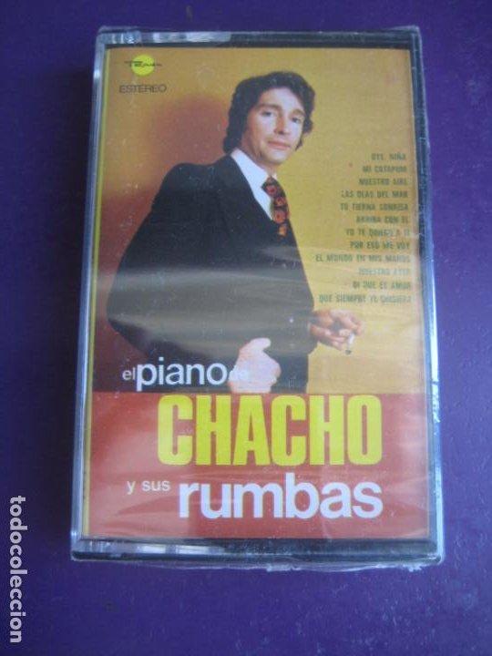 EL PIANO DE CHACHO Y SUS RUMBAS CASETE MARFER PRECINTADA 1975 - RUMBA CATALANA - PERET (Música - Casetes)