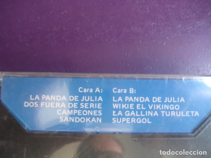Casetes antiguos: LA PANDA DE JULIA CASETE COCK PRECINTADA - SERIE TVE - CAMPEONES - SUPERGOL - VIKIE VIKINGO TELEVISI - Foto 2 - 210387821