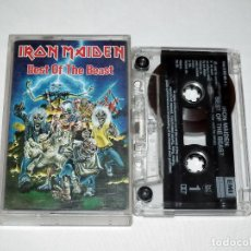 Casetes antiguos: CINTA CASSETTE - IRON MAIDEN BEST OF THE BEAST. Lote 169904904