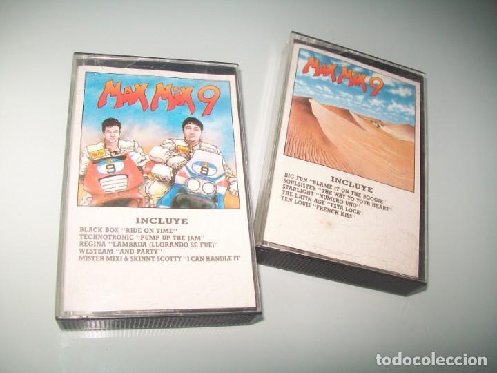 MAX MIX Nº 9 - COMPLETO 2 CASETES - BUEN ESTADO (Música - Casetes)