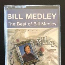 Casetes antiguos: BILL MEDLEY THE BEST OF CASSETTE SPAIN PRECINTADO ORIGINAL. Lote 210545518