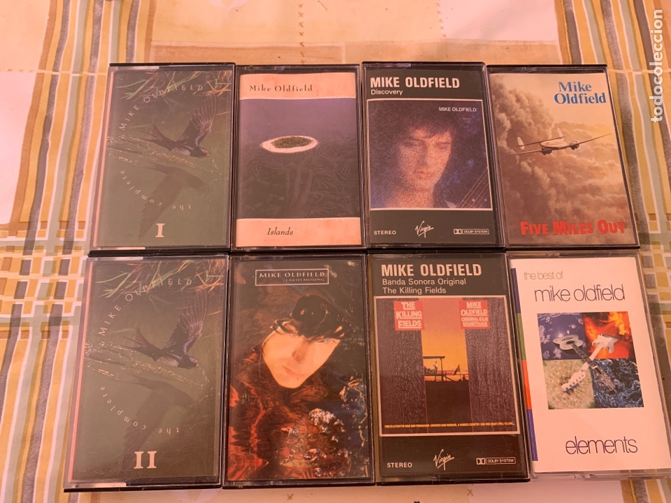 Casetes antiguos: 8 casetes de Mike Oldfield - Foto 1 - 210672389