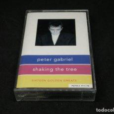 Casetes antiguos: CASETE - PETER GABRIEL - SHAKING THE TREE - 16 GOLDEN GREATS - CARATULA DESPLEGABLE. Lote 210705757