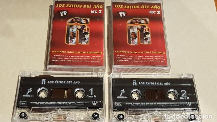 Ñ / LOS ÉXITOS DEL AÑO / DOBLE CASETE-DRO-2000 / IMPECABLES (Música - Casetes)