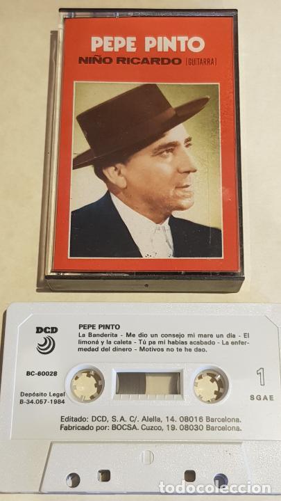 PEPE PINTO / CON EL NIÑO RICARDO / MC - DCD - 1984 / IMPECABLE. (Música - Casetes)