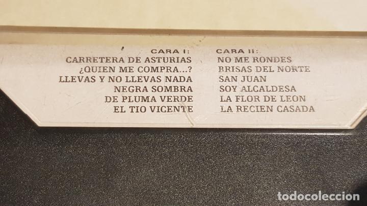 Casetes antiguos: ANTOÑITA MORENO / CARRETERA DE ASTURIAS / MC - JERCAR-1987 / IMPECABLE. - Foto 2 - 210961336