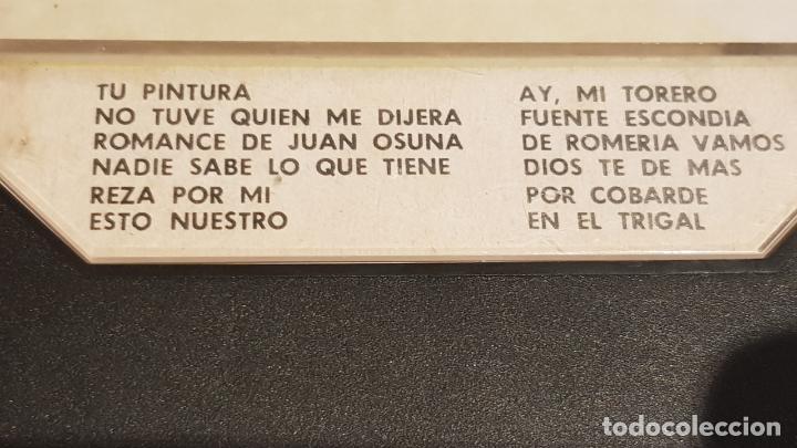 Casetes antiguos: LA MAESTRÍA FLAMENCA DE LA PAQUERA DE JEREZ / MC - TRAMA-1970 / IMPECABLE. - Foto 2 - 211255742