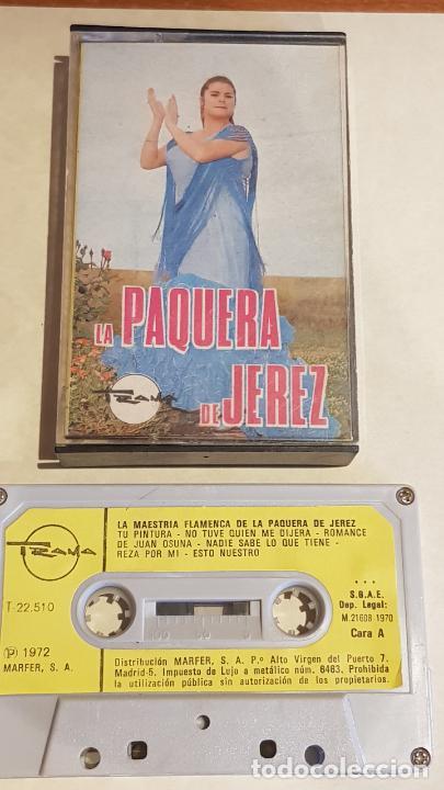 LA MAESTRÍA FLAMENCA DE LA PAQUERA DE JEREZ / MC - TRAMA-1970 / IMPECABLE. (Música - Casetes)