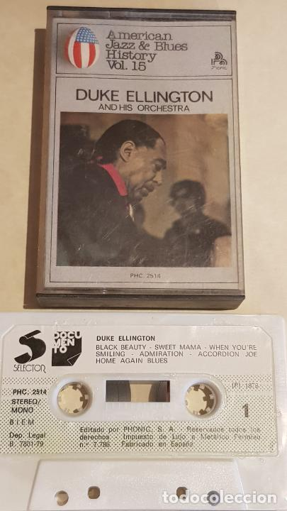 DUKE ELLINGTON AND HIS ORCHESTRA /AMERICAN JAZZ & BLUES HISTORY Nº 15 / IMPECABLE. (Música - Casetes)