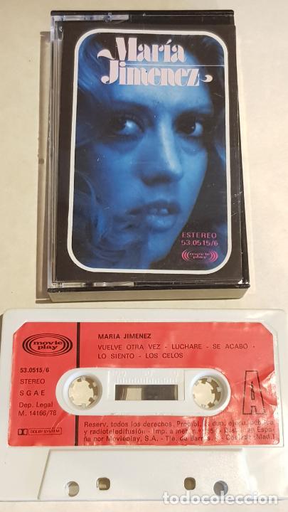 MARÍA JIMÉNEZ / MISMO TÍTULO / MC - MOVIE PLAY-1978 / IMPECABLE. (Música - Casetes)