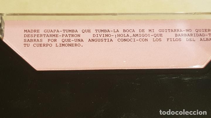 Casetes antiguos: ALEJANDRO CONDE / MADRE GUAPA / MC - PERFIL-1989 / IMPECABLE. - Foto 2 - 211337580