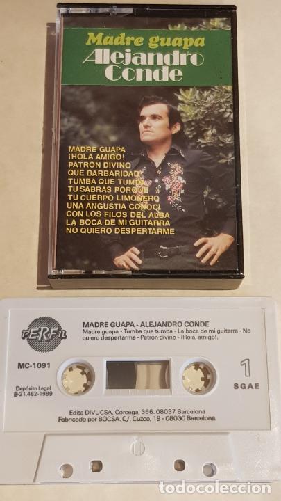ALEJANDRO CONDE / MADRE GUAPA / MC - PERFIL-1989 / IMPECABLE. (Música - Casetes)