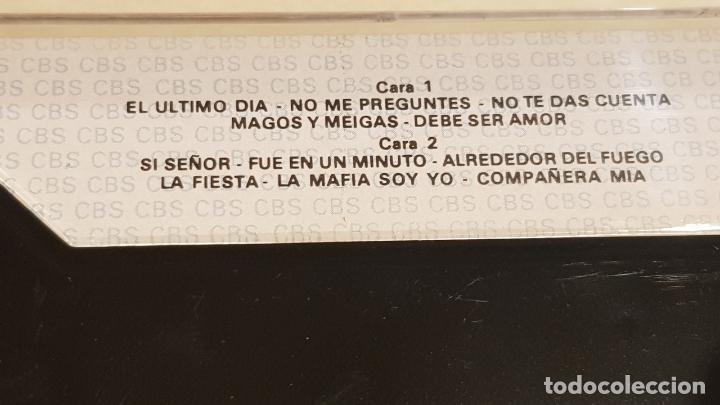 Casetes antiguos: SERGIO Y ESTIBALIZ / SI SEÑOR / MC - CBS-1986 / IMPECABLE. - Foto 2 - 211368466