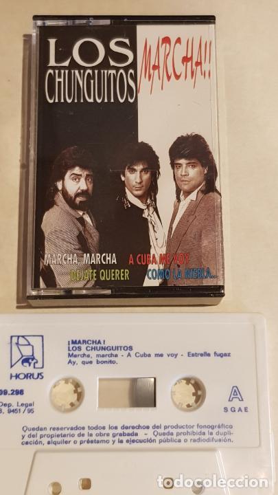 LOS CHUNGUITOS / MARCHA / MC - HORUS-1995 / IMPECABLE (Música - Casetes)
