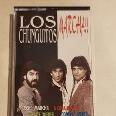 Casetes antiguos: LOS CHUNGUITOS / MARCHA / MC - HORUS-1995 / IMPECABLE. Lote 211385536