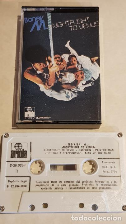 BONEY M / NIGHTFLIGHT TO VENUS / MC - ARIOLA-1978 / IMPECABLE. (Música - Casetes)