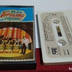 Casetes antiguos: CASETE CINTA ( TOPOLINO RADIO ORQUESTA – TOPOLINO RADIO ORQUESTA ) 1981 CFE . Lote 211440956