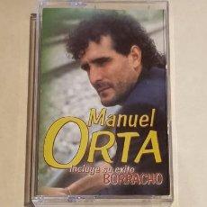 Casetes antiguos: MANUEL ORTA / BORRACHO / MC - FODS-2000 / IMPECABLE.. Lote 211497829
