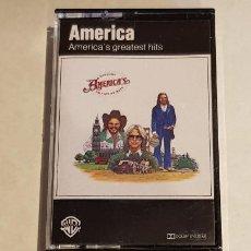 Casetes antiguos: AMERICA / AMERICA'S GREATEST HITS / MC - WEA RECORDS-1982 / IMPECABLE.. Lote 211498050