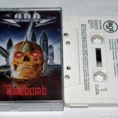 Casetes antiguos: CASSETTE U.D.O. - TIMEBOMB. Lote 211670816