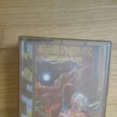 Casetes antiguos: IRON MAIDEN. SOMEWHERE IN TIME. CASSETTE. EMI (1986). SPAIN.. Lote 211694600