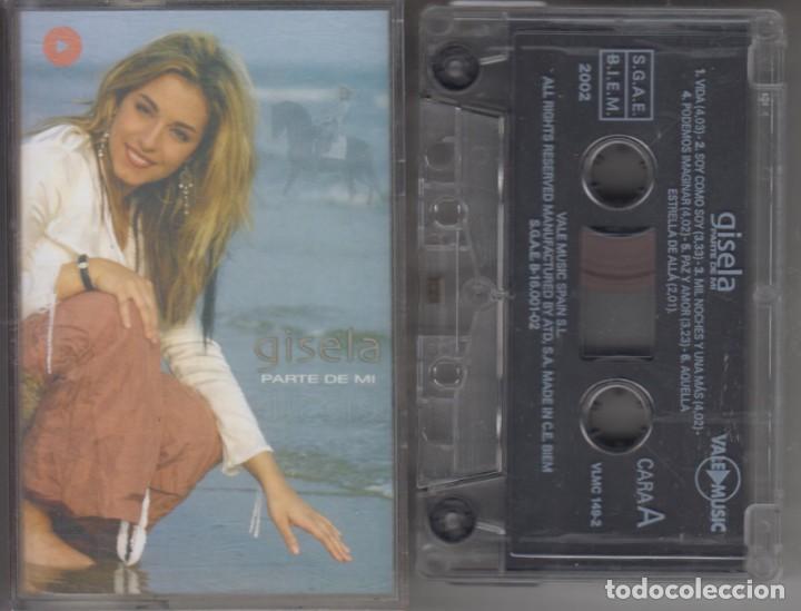 GISELA CASSETTE PARTE DE MI 2002 (Música - Casetes)